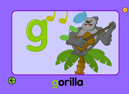 Don't click this letter unless you want to see a grinning gorilla on guitar!