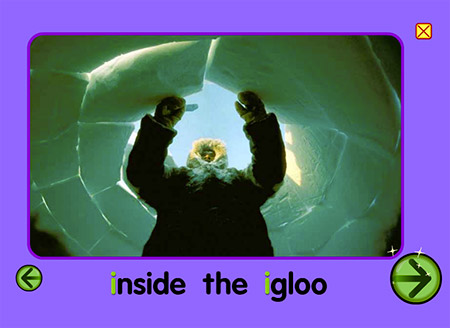 Would you like to go inside an igloo?
