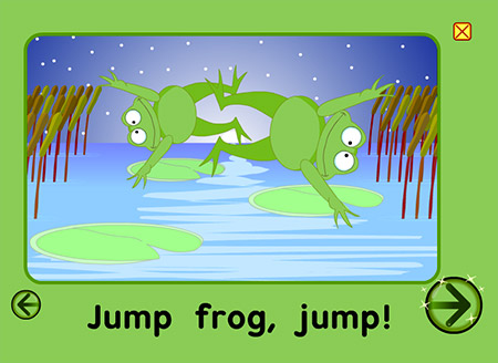 The jumping frogs are totally worth it!