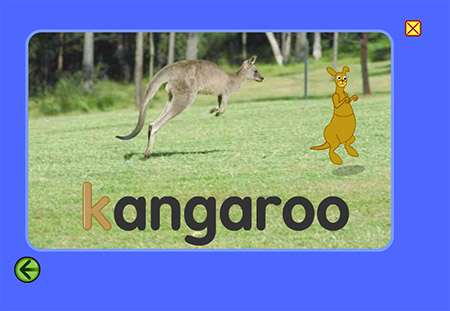 Where did that kickin' kangaroo come from?
