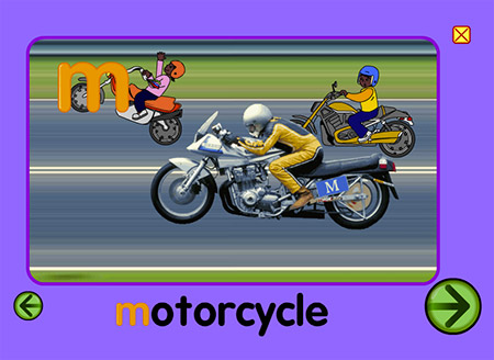 "You know ""m"" is for motorcycle, how many will you see?"