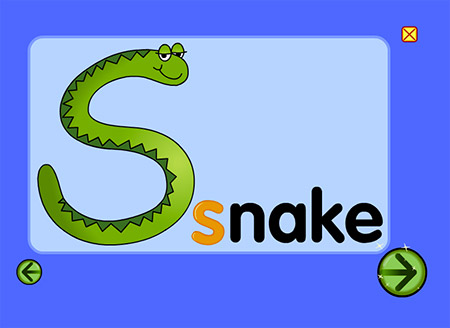 Say this six times: Super silly snake slithers.
