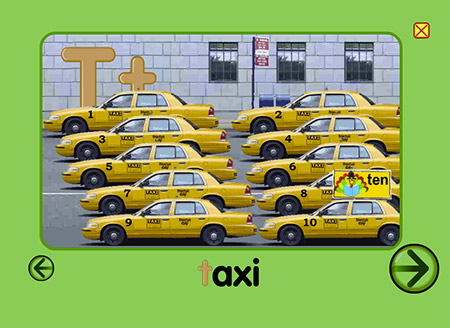 Have you ever seen ten taxis together?