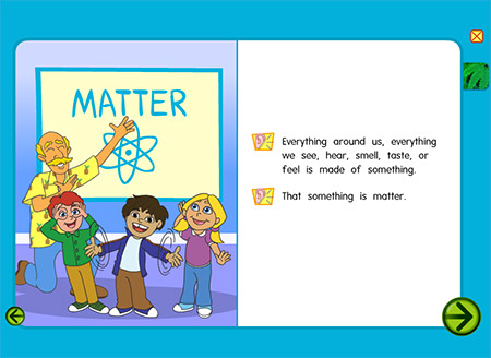 The universe is made of matter!
