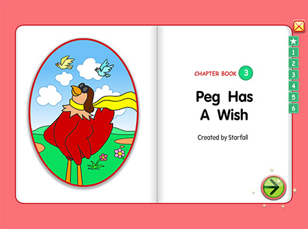 Chapter Book 3: Peg Has A Wish