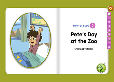 Pete's Day at the Zoo