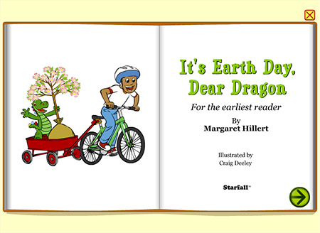 How will Dragon show he cares about the earth on Earth Day?