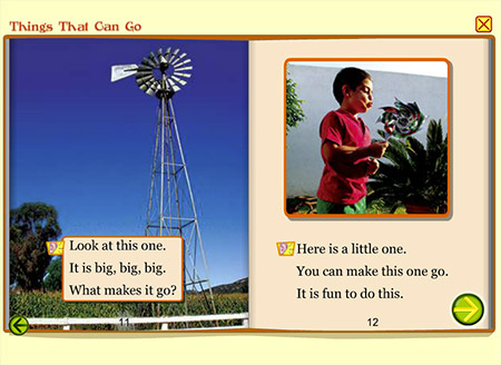 Big windmill, little windmill. Check out these cool things that can go!