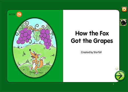 How the Fox Got the Grapes