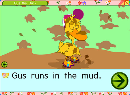 Oh, Gus. How'd you get so muddy?!