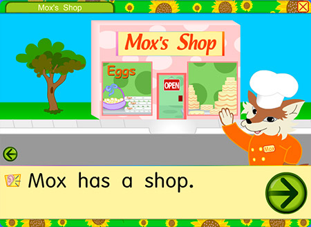Let's visit Mox in the shop!