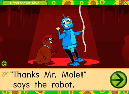 Robots, and moles, and space! Oh, my!