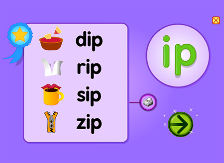 Grab the chIPs and dIP! Let's make words with -ip!