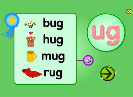 I don't mean to bUG, but you should make words with -ug!