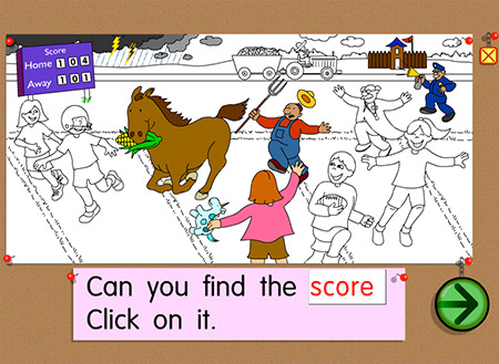 Can you scORe in picture hunt?