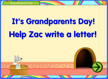 What would you write to your grandparents?