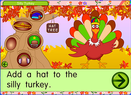 Have you ever seen a turkey wearing a hat?