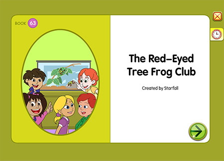 The Red-Eyed Tree Frog Club