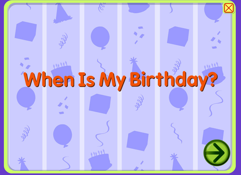 My birthday is in the spring! When is yours?