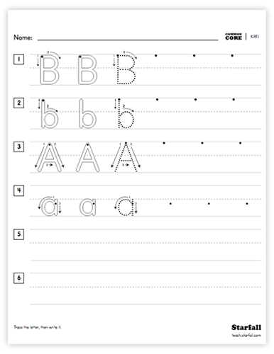 Multi-Letter worksheet