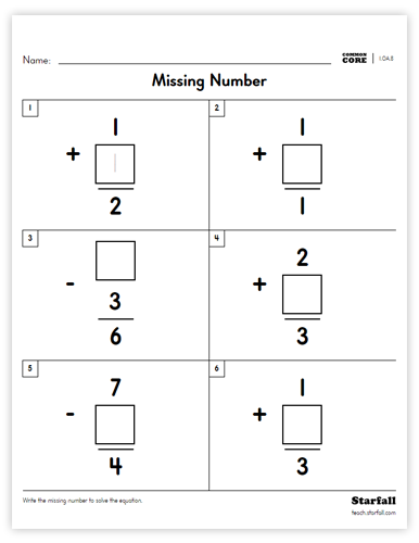 Image of Missing Number