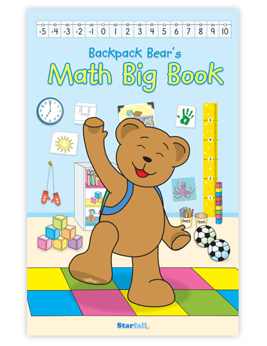 Backpack Bear's Math Big Book screenshot