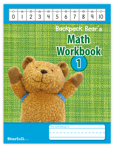 Backpack Bear's Math Workbook 1 screenshot