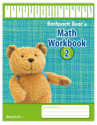Backpack Bear's Math Workbook 2 screenshot