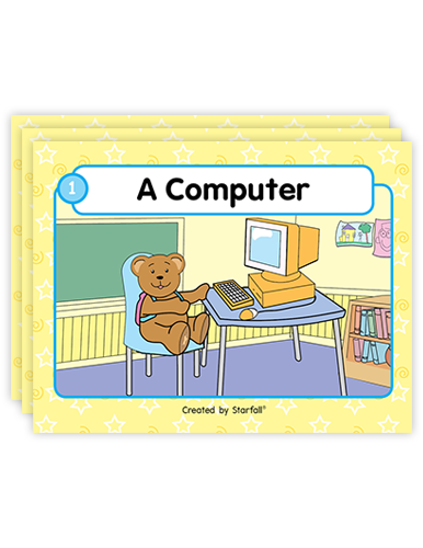 Backpack Bear's Books (Pre-Decodable) screenshot