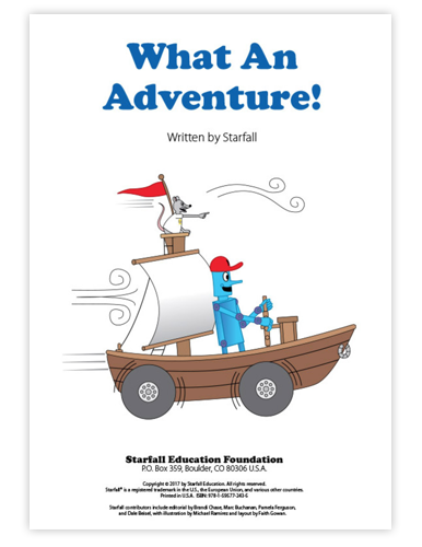 Image of Chapter Book: What an Adventure! Projectable